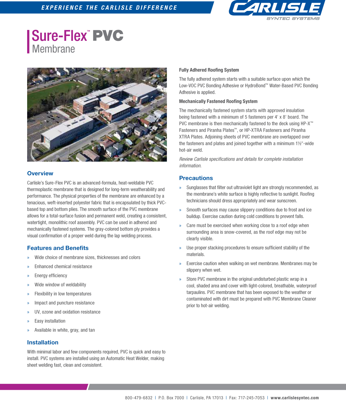 Sure Flex Pvc Nepa Technology Construction And Foreign